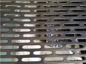 长圆孔冲孔网-外形激光切割筛板制作流程
